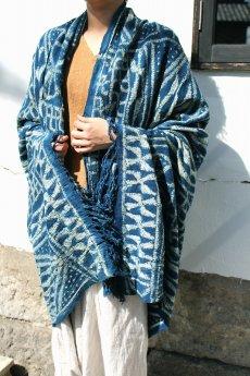 画像3: 【カメルーン】バミレケ族藍染め布(絞り染め) (3)