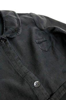 画像6: 【フランス】1930年代頃のブラックワークドレス(丸襟/小さめ) (6)