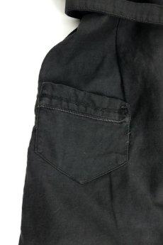 画像11: 【フランス】1930年代頃のブラックワークドレス(丸襟/小さめ) (11)