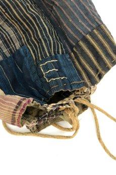 画像8: 【日本】明治・大正時代の米袋巾着(小さめ/3) (8)