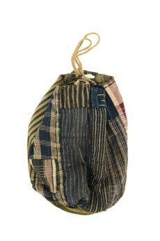 画像1: 【日本】明治・大正時代の米袋巾着(小さめ/3) (1)