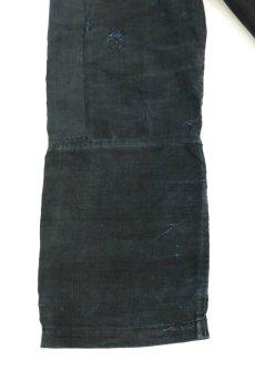 画像9: 【フランス】20世紀初頭 インディゴリネン ワークコート(ホームメイド) (9)