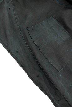 画像14: 【フランス】20世紀初頭 インディゴリネン ワークコート(ホームメイド) (14)