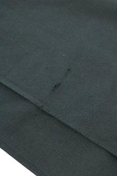 画像11: 【フランス】アンティークコットン×染め 長袖 シャツワンピース(黒) (11)