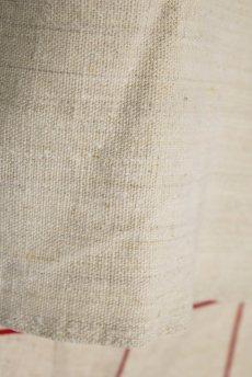 画像4: 【フランス】アンティーク 19世紀のリネンスモックシャツ(生成り) (4)