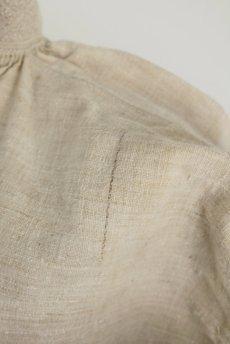 画像18: 【フランス】アンティーク 19世紀のリネンスモックシャツ(生成り) (18)