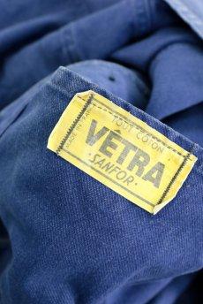 画像11: 【フランス】1960年代 ブルーコットン ワークジャケット(VETRA) (11)