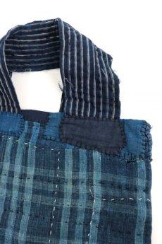 画像5: 【MITSUGU SASAKI】BORO古布 刺し子肩掛けバッグ (5)