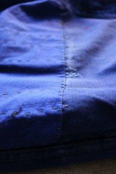 画像6: 【MITSUGU SASAKI】ビンテージ×リメイク パッチワーク&刺し子 ワークパンツ(ウエスト青ひも ) (6)