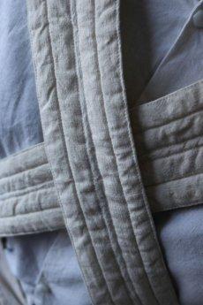 画像8: 【ササキチホ】アンティークリネン×染め 胴衣(白) (8)