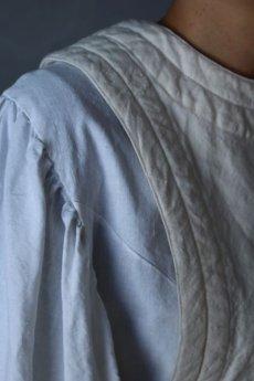画像6: 【ササキチホ】アンティークリネン×染め 胴衣(白) (6)