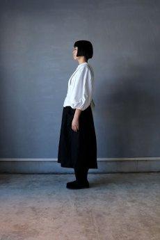 画像9: 【ササキチホ】アンティークリネン×染め 胴衣(白) (9)