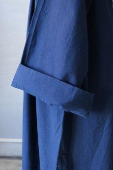 画像7: 【フランス】20世紀中期の教会用ロングスモックドレス(後染め/紺色) (7)
