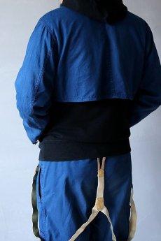 画像18: 【MITSUGU SASAKI】ビンテージリメイク パッチワーク セットアップ(ショート丈ジャケットとイージーワークパンツ) (18)