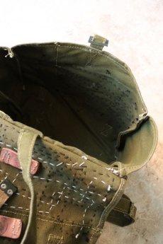 画像10: 【MITSUGU SASAKI】ビンテージリメイク×古布 ルーマニア軍のショルダーバッグ (10)