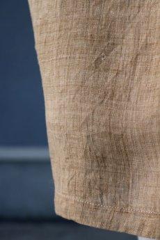 画像13: 【ササキチホ】古布の麻 バレル巻きスカート (13)