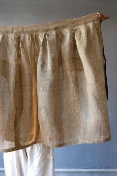 画像14: 【ササキチホ】古布の麻 バレル巻きスカート (14)