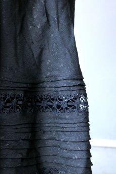 画像5: 【ササキチホ】リメイク ブラックレース 重ね巻きスカート (5)