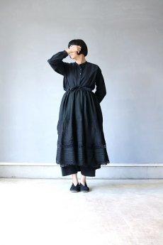 画像2: 【ササキチホ】リメイク ブラックレース 重ね巻きスカート (2)