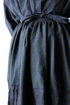 画像6: 【ササキチホ】リメイク ブラックレース 重ね巻きスカート (6)