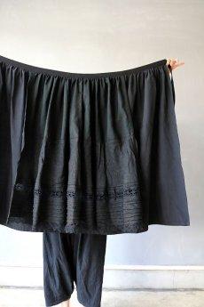 画像14: 【ササキチホ】リメイク ブラックレース 重ね巻きスカート (14)