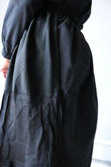 画像8: 【ササキチホ】リメイク ブラックレース 重ね巻きスカート (8)