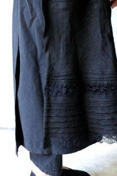 画像12: 【ササキチホ】リメイク ブラックレース 重ね巻きスカート (12)