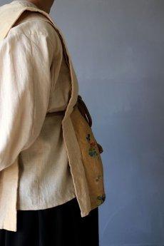 画像12: 【ササキチホ】日本古布×中国古布 四角衣 (12)