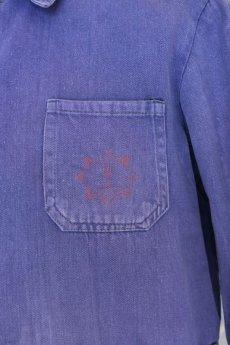 画像6: 【ドイツ】1960年代 茄子紺 ワークジャケット (6)