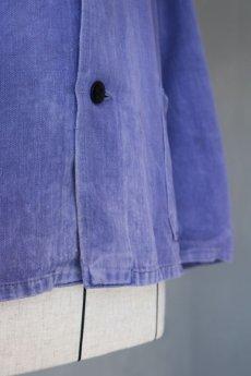 画像5: 【ドイツ】1960年代 茄子紺 ワークジャケット (5)