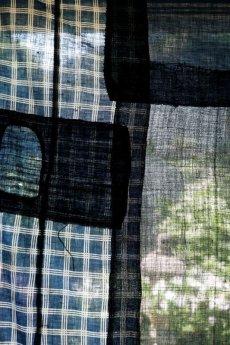 画像15: 【MITSUGU SASAKI】日本古布 パッチワーク壁掛け (15)