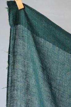 画像6: 【MITSUGU SASAKI】日本古布 パッチワーク壁掛け (ウコンの蚊帳) (6)
