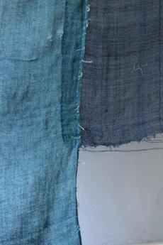 画像7: 【MITSUGU SASAKI】日本古布 パッチワーク壁掛け (ウコンの蚊帳) (7)