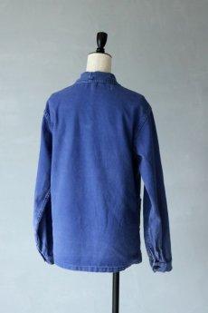 画像9: 【フランス】1960年代 ブルーワークジャケット(小さめ) (9)