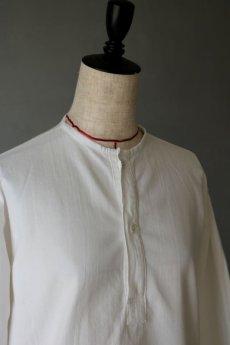 画像3: 【旧ソビエト】ビンテージミリタリー ホワイトシャツ(裏起毛) (3)