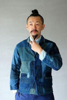 画像20: 【MITSUGU SASAKI】SUPER BORO BORO インディゴブルージャケット(製造年月2021年9月) (20)