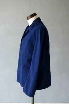 画像7: 【イタリア】1950年代 ブルーワークジャケット(ノッチドラペル) (7)