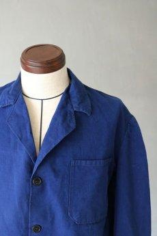 画像11: 【イタリア】1950年代 ブルーワークジャケット(ノッチドラペル) (11)
