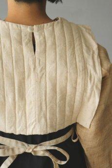 画像13: 【ササキチホ】日本古布 四角衣(生成りの木綿) (13)