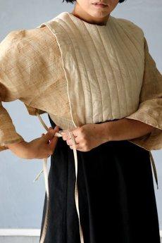 画像2: 【ササキチホ】日本古布 四角衣(生成りの木綿) (2)