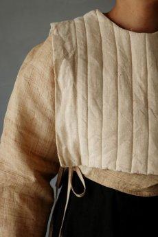 画像7: 【ササキチホ】日本古布 四角衣(生成りの木綿) (7)