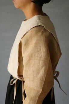 画像10: 【ササキチホ】日本古布 四角衣(生成りの木綿) (10)