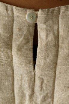 画像11: 【ササキチホ】日本古布 四角衣(生成りの木綿) (11)