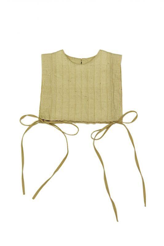画像1: 【ササキチホ】日本古布 四角衣(生成りの木綿) (1)